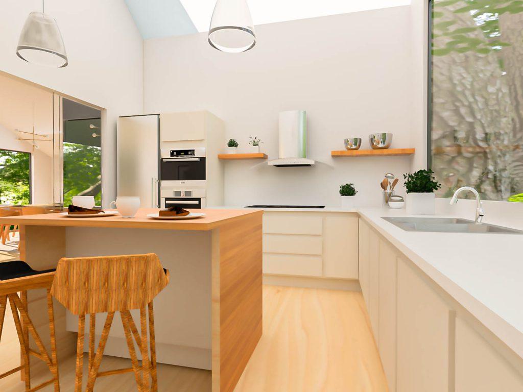 Renders 3D para interiorismo - Villegas Fotografía