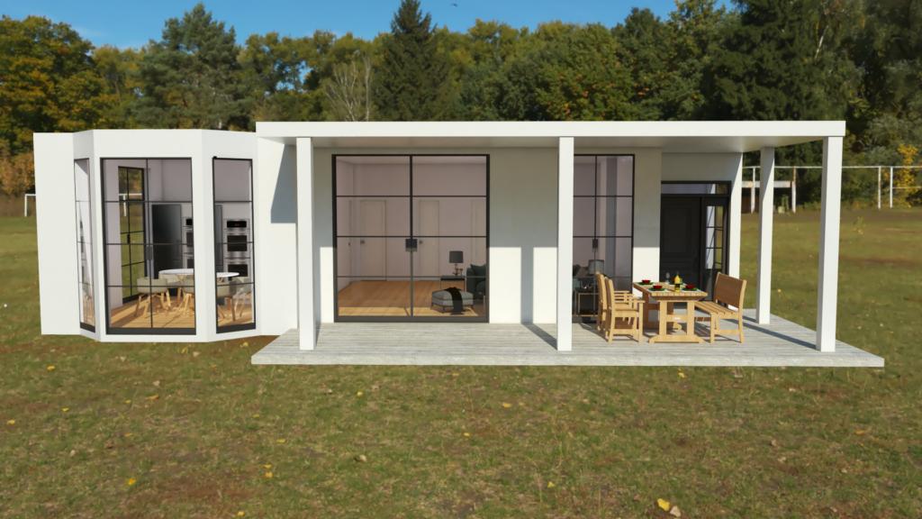 Renders 3D para arquitectura - Villegas Fotografía