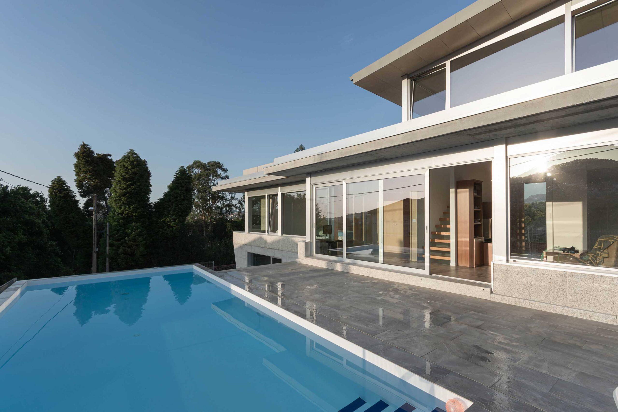 Villa en Bayona - Fotografía de interiores